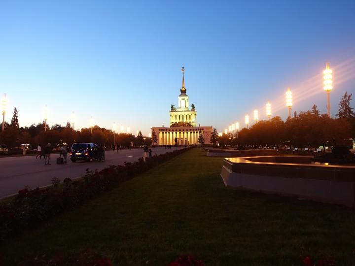 Moskau – ein Traum bei Nacht