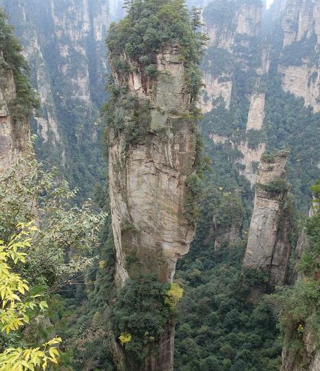 Aufstieg zu den Avatar-Mountains