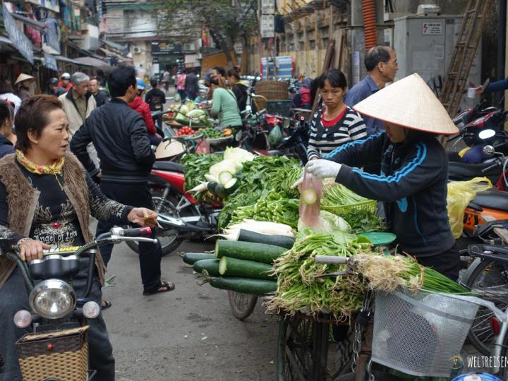 Das pulsierende Strassenleben Hanoi's