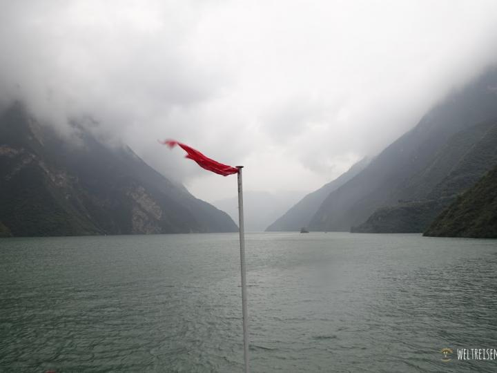 "Yangtze ""Kreuzfahrt"" unter Chinesen"