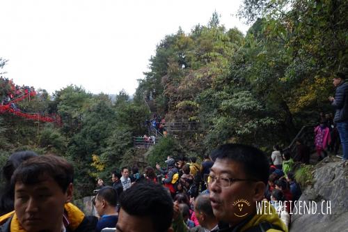 Massentourismus im Zhangjiajie National Park